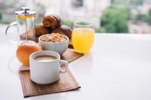 Frühstück in der WABE