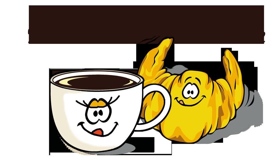 Kaffee trifft Hörnchen