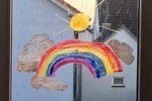 Regenbogen - Corona-Aktion